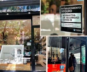 Sello COVID FREE Diario Expansion Joan Riera
